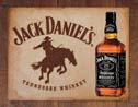 Metallschild JACK DANIEL'S  BRONCO