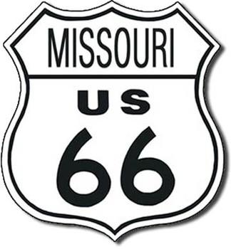 ROUTE 66 - missouri Metalni znak