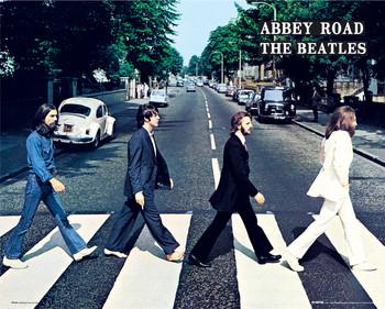 Beatles - abbey road Mini plakat