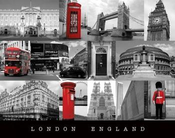 Londen - england Mini plakat