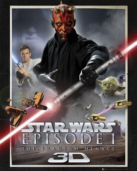 Star Wars – episode 1,one sheet Mini plakat