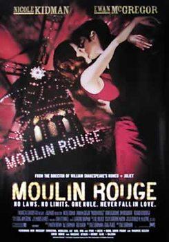 Moulin Rouge - Nicole Kidman, Ewan Mc Gregor (Nachdruck) Plakater