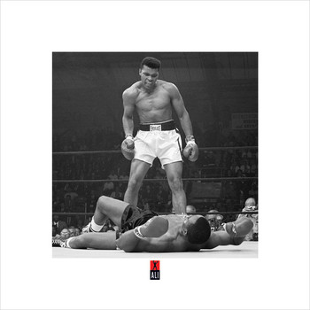 Muhammad Ali v Liston  kép reprodukció