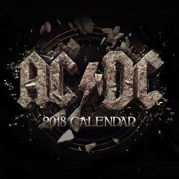 AC/DC naptár 2018