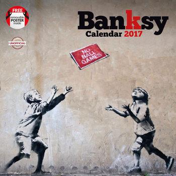Banksy naptár 2017
