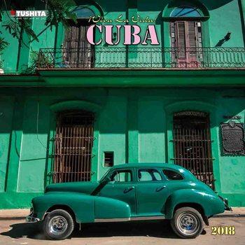 Buena Vista Cuba naptár 2018