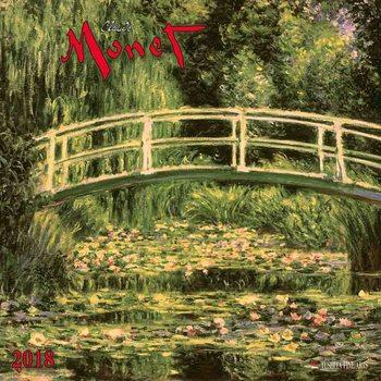 Claude Monet naptár 2018