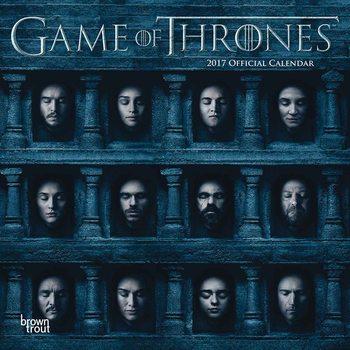 Game of Thrones naptár 2017