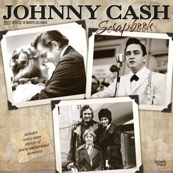 Johnny Cash naptár 2017