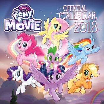 My Little Pony Movie naptár 2018