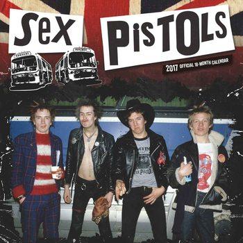 Sex Pistols naptár 2017