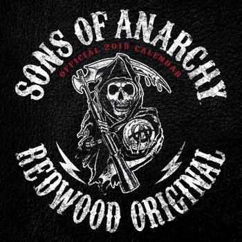 Sons of Anarchy (Kemény motorosok) naptár 2017
