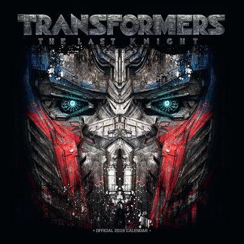 Transformers naptár 2018