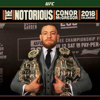 UFC: Conor McGregor naptár 2018