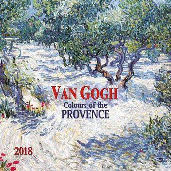 Vincent van Gogh - Colours of the Provence  naptár 2018