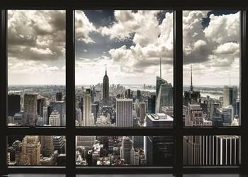 New York - window - плакат (poster)