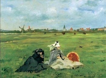 Reprodukce Les hirondelles, 1873