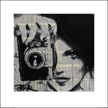 Loui Jover - Focus, Obrazová reprodukcia