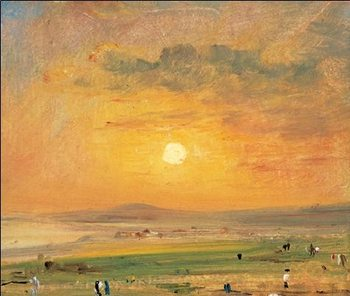 Reprodukce Pláž Brighton Beach, 1824-26