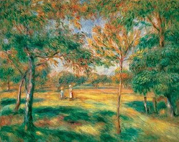 Renoir -The Clearing, 1895, Obrazová reprodukcia