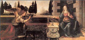 Reprodukce Zvěstování Panny Marie