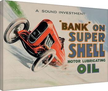 Obraz na plátně Shell - Bank on Shell - Racing Car, 1924