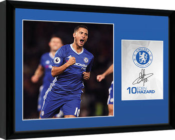 Chelsea - Hazard 16/17 oprawiony plakat