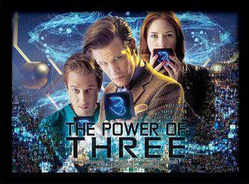 Doctor Who - Power of 3 zarámovaný plakát