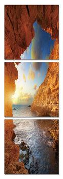 Obraz Moře - pohled z jeskyně