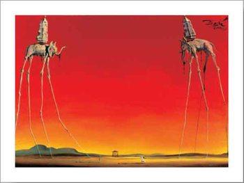 The Elephants, 1948 Obrazová reprodukcia