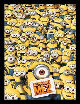 Minionki (Despicable Me) - Minionki oprawiony plakat