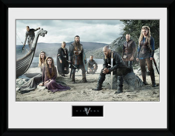 Vikings - Beach oprawiony plakat