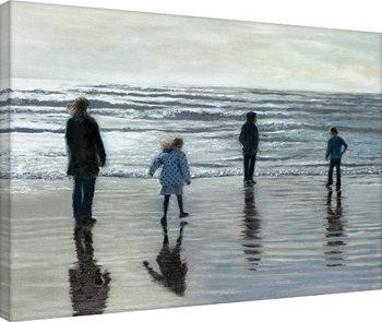 Andrew McNeile Jones - Testing The Waves På lærred