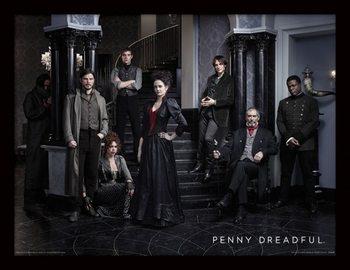 Penny Dreadful - Group Tablou Înrămat cu Geam