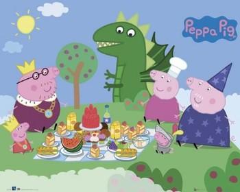 PEPPA PIG - picnic - плакат (poster)