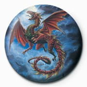 Alchemy (Whitby Wyrm) - pin