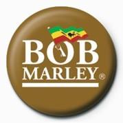 Pin - BOB MARLEY - logo