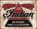 INDIAN GENUINE PARTS Placă metalică