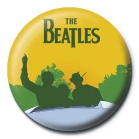 Odznak BEATLES - sunny