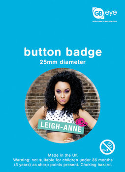 Odznak LITTLE MIX - leigh an