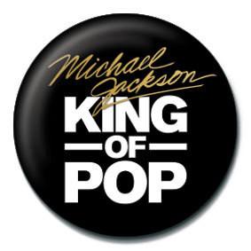 MICHAEL JACKSON - king of the pop Placky | Odznaky
