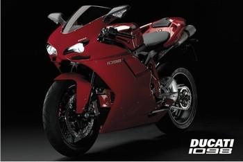 Plagát Ducati - 1098