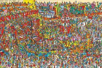 Plagát Kde je Wally?  - Toys, Toys, Toys