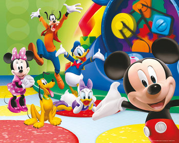 Plagát Mickey Mouseov klub