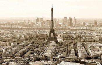 Plagát Paríž - sepia