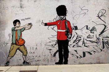 Plagát Prolifik Street Art - Royal Guard