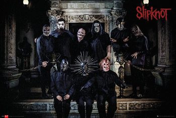 Plagát Slipknot - Band Line Up
