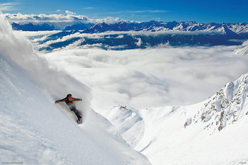 Plagát Snowboarding