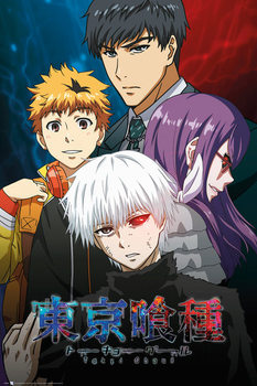 Plagát Tokyo Ghoul - Conflict
