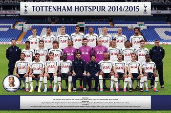 Plagát Tottenham Hotspur FC - Team Photo 14/15